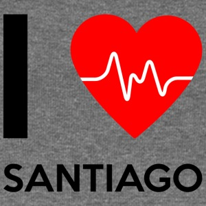 I Love Santiago - I Love Santiago - Women's Boat Neck Long Sleeve Top