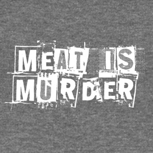 Meat Is Murder - Women's Boat Neck Long Sleeve Top