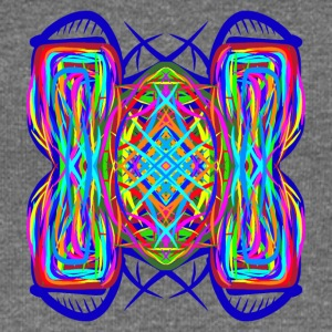 turtle tortoise trippy abstract psychedelic - Women's Boat Neck Long Sleeve Top
