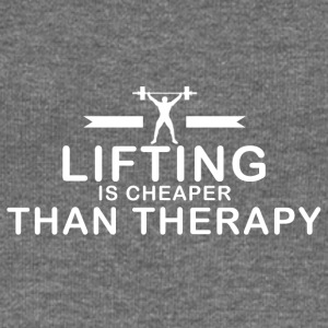 Lifting is cheaper than therapy - Women's Boat Neck Long Sleeve Top