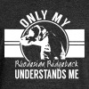 Only my Rhodesian Ridgeback - Women's Boat Neck Long Sleeve Top