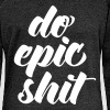 Do Epic Shit - Pull Femme col bateau de Bella
