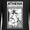 Athena. Art, Wisdom and Warfare - Women's Boat Neck Long Sleeve Top