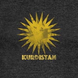 Kurdistan sun, Kurdistan sun. - Women's Boat Neck Long Sleeve Top