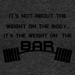 weight at the bar - Felpa con scollo a barca da donna, marca Bella