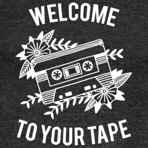Welcome to your tape - Women's Boat Neck Long Sleeve Top