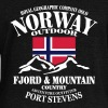 Norway - Fjord & Mountain - Women's Boat Neck Long Sleeve Top