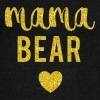Mama Bear - Women's Boat Neck Long Sleeve Top