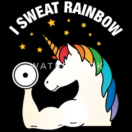 Image result for sweaty gym unicorn