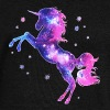 Unicorn stars, galaxy, space, horse, fantasy,  - Women's Boat Neck Long Sleeve Top