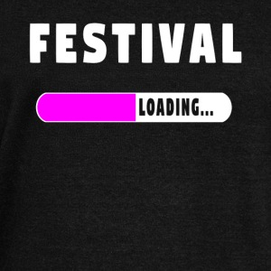 Festival Loading Shirt - Women's Boat Neck Long Sleeve Top