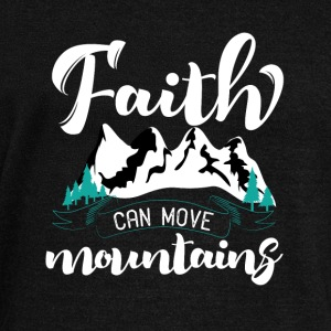 Faith can move Mountains - Women's Boat Neck Long Sleeve Top