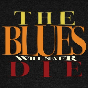 THE BLUES non morirà mai - Felpa con scollo a barca da donna, marca Bella