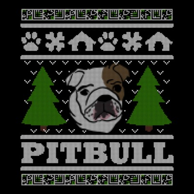 Pit Bull Christmas Ugly Shirt