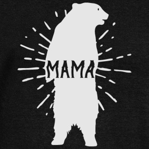Mama Bear Mothers Day - Mother 's Day - Women's Boat Neck Long Sleeve Top