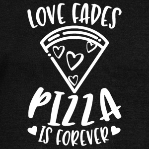 Love Fades Pizza Is Forever - Women's Boat Neck Long Sleeve Top