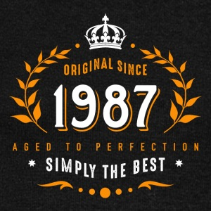 original since 1987 simply the best 30th birthday - Women's Boat Neck Long Sleeve Top