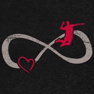 Infinity ∞ ∞ I love volley-ball Smasher - Pull Femme col bateau de Bella