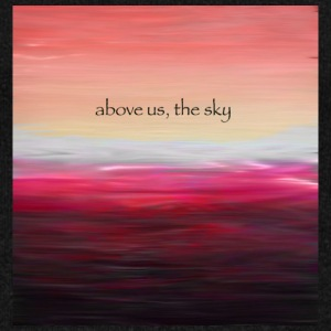 Above Us The Sky - Felpa con scollo a barca da donna, marca Bella