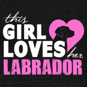 This girl loves her labrador - Women's Boat Neck Long Sleeve Top