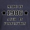Made in 1986 - Women's Boat Neck Long Sleeve Top