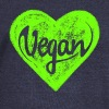 Vegan - a heart for animals, protection, nature,   - Pull Femme col bateau de Bella
