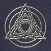 Triple Triquetra, Trinity, Symbol of perfection Sweaters - Vrouwen trui met U-hals van Bella