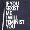 if you sexist me i will feminist you - Pull Femme col bateau de Bella