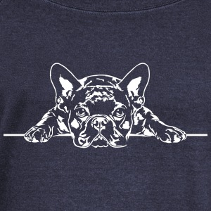 French Bulldog - French Bulldog - Naisten Bella u-kaula-aukkoinen pusero