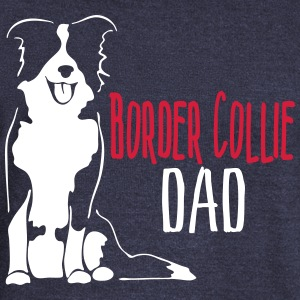 Border Collie Dad - Women's Boat Neck Long Sleeve Top