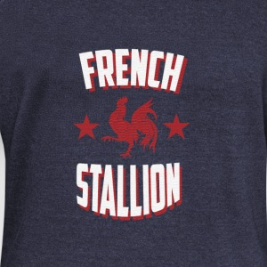 French Stallion - Women's Boat Neck Long Sleeve Top