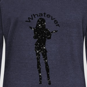 Whatever - Women's Boat Neck Long Sleeve Top