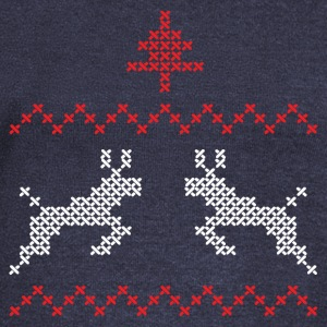 Christmas design with three and deer II