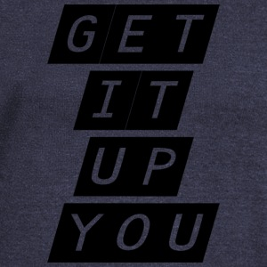 get it up you - Women's Boat Neck Long Sleeve Top