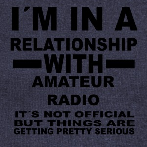 Relationship with AMATEUR RADIO - Women's Boat Neck Long Sleeve Top