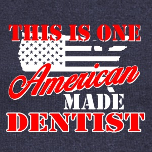 This is one american made dentist - Women's Boat Neck Long Sleeve Top