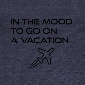 In the mood to go on a vacation - Women's Boat Neck Long Sleeve Top