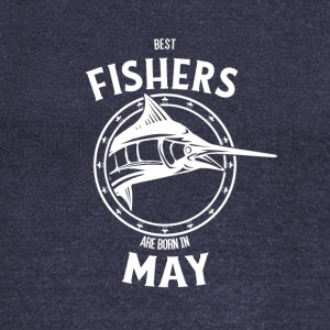 Present for fishers born in May - Women's Boat Neck Long Sleeve Top