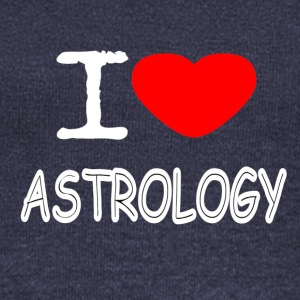I LOVE ASTROLOGY - Women's Boat Neck Long Sleeve Top