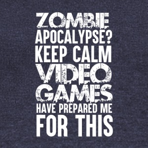 Gamer - Zombie Apocalypse - Women's Boat Neck Long Sleeve Top