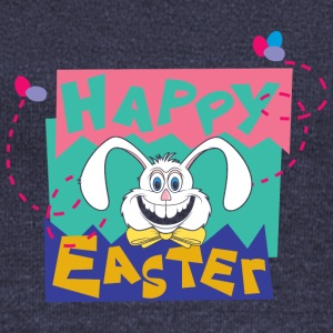 Easter Happy Easter Bunny - Women's Boat Neck Long Sleeve Top