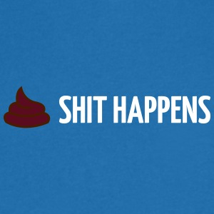 Shit Happens! - Men's V-Neck T-Shirt