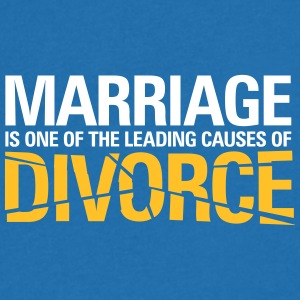 Marriage Is A Main Reason For Divorce! - Men's V-Neck T-Shirt