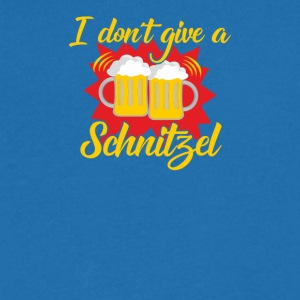 I do not give schnitzel! - Men's Organic V-Neck T-Shirt by Stanley & Stella