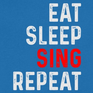 SING REPEAT - Men's Organic V-Neck T-Shirt by Stanley & Stella