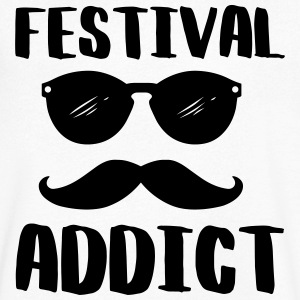Festival addict - Men's V-Neck T-Shirt