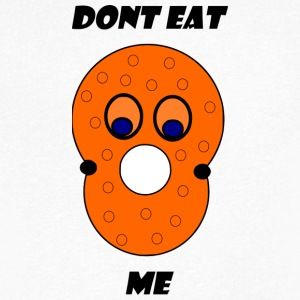 dont eat me - Men's Organic V-Neck T-Shirt by Stanley & Stella