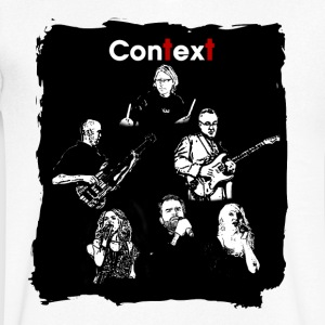 Context the Band - T-shirt med v-ringning herr