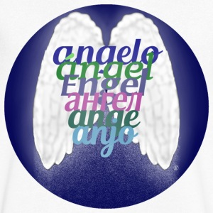 Angel (some languages) - Men's Organic V-Neck T-Shirt by Stanley & Stella