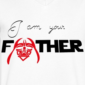 I Am Your Father - Men's Organic V-Neck T-Shirt by Stanley & Stella
